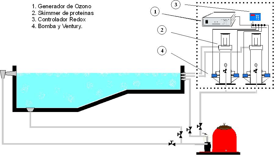 Ozono embotelladora desinfeccion embotelladora for Ozono para piscinas